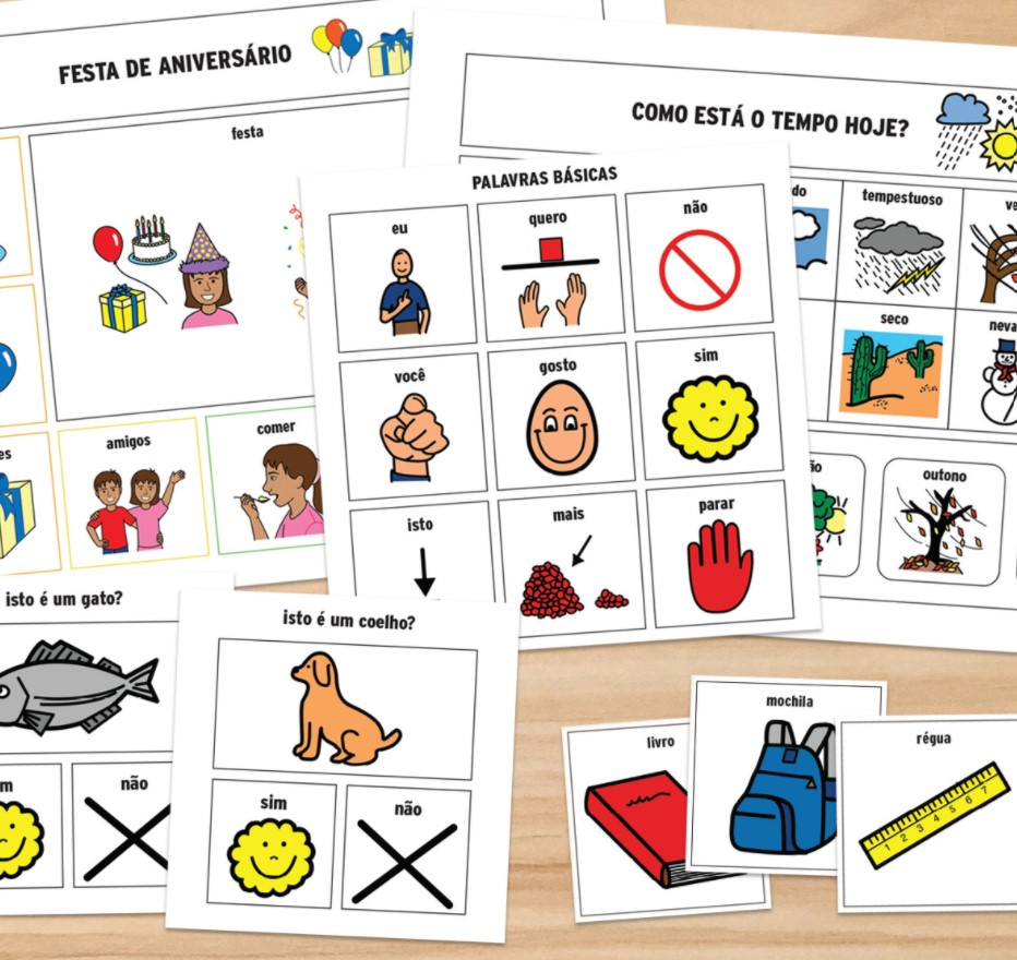 Kit de iniciação à Comunicação Alternativa em sala de aula