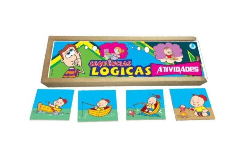 Kit Sequências Lógicas com 6 temas