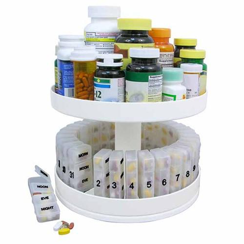 Organizador de remédios mensal