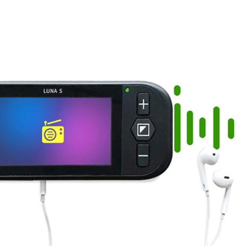 Vídeo Ampliador Portátil Zoomax Luna S