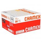 Caixa de Papel A4 Sulfite Chamex Office 210mm x 297mm 75g com 5000 folhas / 10 Resmas com 500 folhas cada