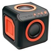 Caixa de Som Bluetooth Punch 15W 360 graus 4 Alto-Falantes Multidirecionais Bass Booster AudioCube ELG PWC-AUDWD