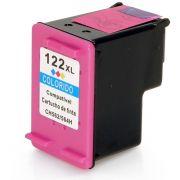 Cartucho de Tinta Compatível HP 122xl 122 / Deskjet 1000 1050 1055 2000 2050 3000 3050 3050A / Colorido / 11ml