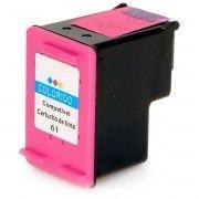 Cartucho de Tinta Compatível HP 61xl 61 / Deskjet 1000 J110A 1050 J410A J410E 1051 1010 2000 2050 2540 / Colorido / 13ml