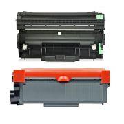 Compatível: Combo Cartucho de Cilindro DR2340 + Toner TN2340 TN2370 para Brother L2320d L2360dw L2360 L2540dw L2740dw