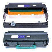 Combo / Cartucho de Cilindro Compatível com Lexmark DR-E260 + Toner E460 para E460 E460D E460DN E-460 E-460D E-460DN