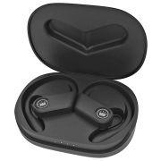 Fone de Ouvido Esportivo Bluetooth 5.0 com Base para Recarga e Microfone para Atender Chamadas Kimaster TWS200