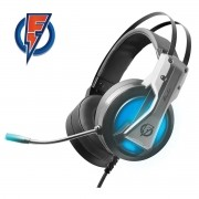 Headset Gamer Flakes Power Storm 7.1 Virtual Channel Com Microfone ELG FLKH001