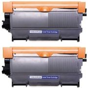 Kit 2x / Toner Compatível Brother TN450 TN420 TN410 / HL-2130 HL-2132 HL-2220 DCP-7055 DCP-7060 DCP-7065 / Preto / 2.600