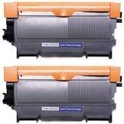 Kit 2x / Toner Compatível Brother TN450 TN420 TN410 / HL-2130 HL-2132 HL-2220 DCP-7055 DCP-7060 DCP-7065 / Preto / 2.600