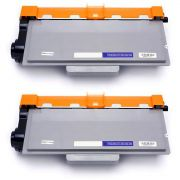 Compatível: Kit 2x Toner TN-780 TN-3392 para Brother HL-6182 6182dw DCP-8157 8157dn MFC-8712 8950 / Preto  / 12.000