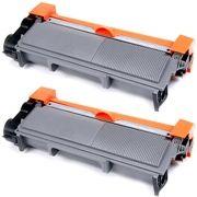 kit 2x / Toner Compatível Brother TN-660 TN-2370 TN-2370  / DCP-L2540 L2540DW MFC-L2740DW L2720DW / Preto / 2.600