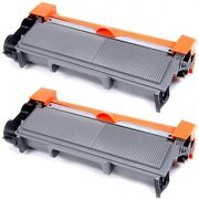 kit 2x / Toner Compatível Brother TN-660 TN-2370 TN-2370  / DCP-L2540 L2540DW MFC-L2740DW L2720DW / Preto / 2.600