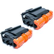 Compatível: Kit 2x Toner TN-3472 TN-880 para Brother L5652 L5202 L6202 L6402 L5602 L6702 L5000 L5700 / Preto / 12.000