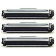 kit 3x / Toner Compatível Brother TN2340 TN2370 TN660 / L2520 L2320D L2360DW L2360 L2540DW MFC-L2740DW L2720DW / Preto / 2.600