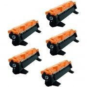 Kit 5x / Toner Compatível Brother TN1000 TN1060 / DCP-1617NW DCP-1512R HL-1212 HL1210W HL1212W DCP1617NW / Preto / 1.000