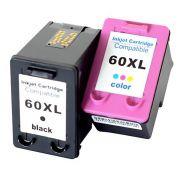 Compatível: Kit Colorido de Cartucho de Tinta 60xl 60 para Impressora HP F4480 C4680 C4780 F4280 D1660 D410 F4440