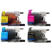 Compatível: Kit Colorido de Cartucho de Tinta LC75 LC79 para Brother J6910dw J430w J6710dw J432 J525 J925 J280 J5910