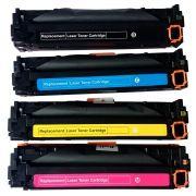 Kit Colorido 4 Cores / Toner Compatível 304A 305A 312A para HP M476NW M475NW M451NW M375NW CP2020 CP2025 CM2320NF MFP