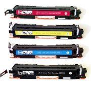Kit Colorido 4 Cores / Toner Compatível 350A 351A 352A 353A para HP Laserjet M177 M177W M177FW M-177 M-177W M-177FW