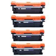 Kit Colorido 4 Cores / Toner Compatível 507A 504A para HP CP3525 CP3525DN CM3530 CM3530FS M551DN M570DN M551N M575C M551