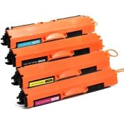 Kit Colorido 4 Cores / Toner Compatível CF350A CF351A CF352A CF353A para HP Laserjet 100 Color M176 M176N M-176 M-176N