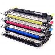 Kit Colorido 4 Cores / Toner Compatível CLT-409 409S para Samsung CLX-3170 CLX-3175 CLP-310 CLP-315 3170FN 315W 3175FW