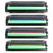 Compatível: Kit Colorido de Toner 504S para Samsung CLP-415nw CLP-415n CLX-4195fw CLX-4195fn CLX-4195n CLP415 CLX4195