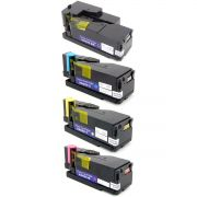Kit Colorido 4 Cores / Toner Compatível Xerox 106R01634 106R01631 106R01633 106R01632 / 6000 6010 6015 6015b 6015ni