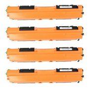 Compatível: Kit Colorido de Toner CE310A CE311A CE312A CE313A para HP CP1025 CP1025nw CP-1025 CP-1025nw