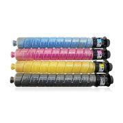 Kit Colorido / Toner Compatível para Impressora Ricoh MP-C2003 MP-C2503 MP-C2004 MP-C2504 MP-C2003SP MP-C2503SP C2011