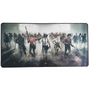 Mouse Pad Gamer Extra Grande 700x350x3mm Base Antiderrapante e Bordas Costuradas Exbom 7035 PU Battle