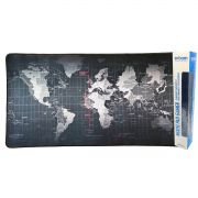 Mouse Pad Gamer Extra Grande 700x350x3mm Bordas Costuradas e Base Antiderrapante Exbom MP7035C Mapa Mundi