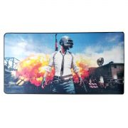 Mouse Pad Gamer Extra Grande 700x350x3mm com Bordas Costuradas e Base Antiderrapante Exbom MP7035 PU Mission