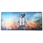 Mouse Pad Gamer Gigante 900x400x3mm com Base Antiderrapante e Bordas Costuradas Exbom MP9040A PU Missão