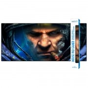 Mouse Pad Gaming Gigante 900x400x3mm com Base Antiderrapante e Bordas Costuradas Exbom 9040A08 Capitão