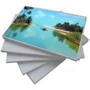 Papel Fotográfico A4 135g Glossy Branco Brilhante Resistente à Água / 200 folhas