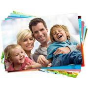 Papel Fotográfico Adesivo Glossy A4 130g Branco Brilhante Resistente à Água / 400 folhas