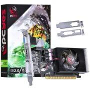 Placa de Vídeo GT430 2GB DDR3 128 Bits com Low Profile PCYES PPOV430GT12802D3