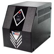 Protetor Eletrônico 1KVA 600W Bivolt E127V/220V S115V 4 Tomadas 10A Cabo Certificado Gabinete Metálico Emplac F60007