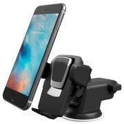 Suporte Veicular para Celular e GPS com Trava Automática e Haste Retrátil de 10cm Exbom SP-72