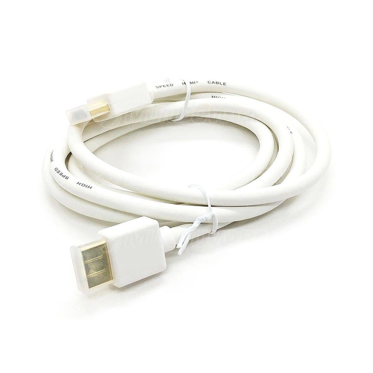 Cabo HDMI 4K UHD v2.0 19 Pinos Blindado 1.5 metros Branco Exbom CBX-H15DSM