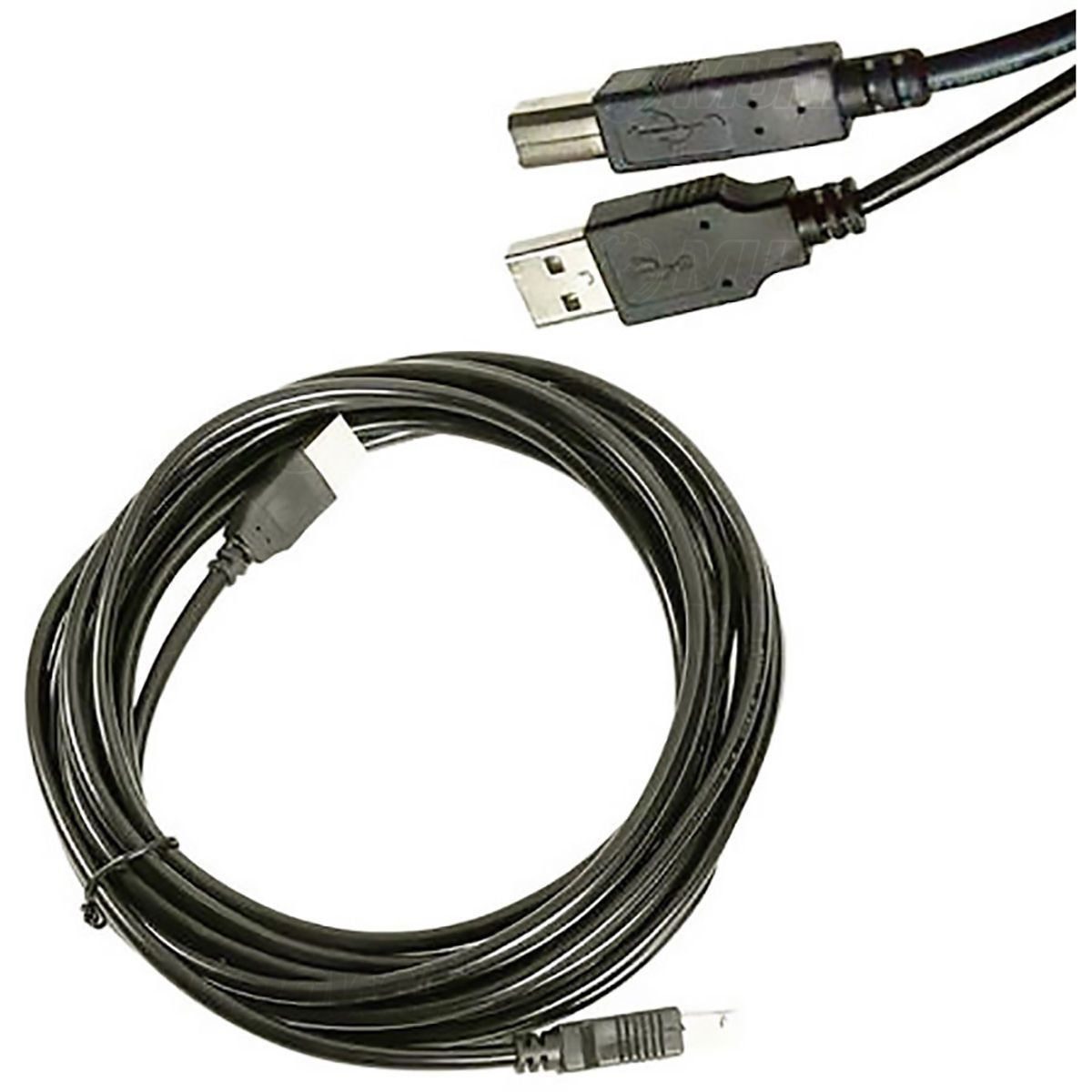 Cabo USB 3 metros AM+BM com Filtro OD4.8 2.0 Exbom CBX-U2AMBM30