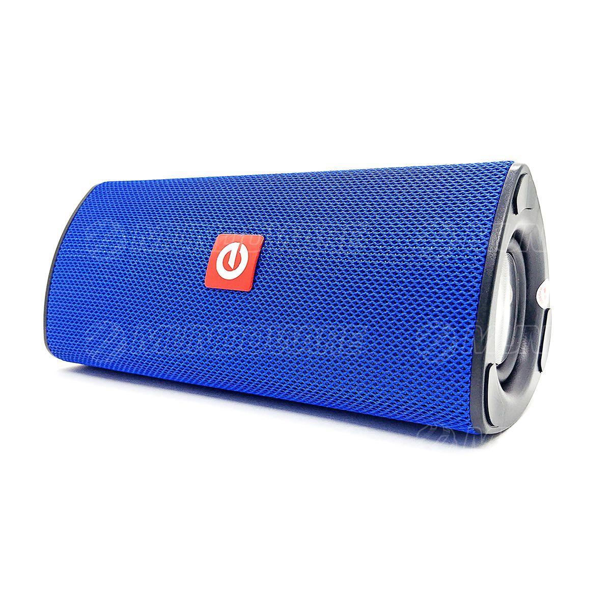 Caixa de Som Bluetooth 3.0 Portátil 10W Entrada USB Micro SD Auxiliar P2 Mic Hands Free Exbom CS-M33BT Azul