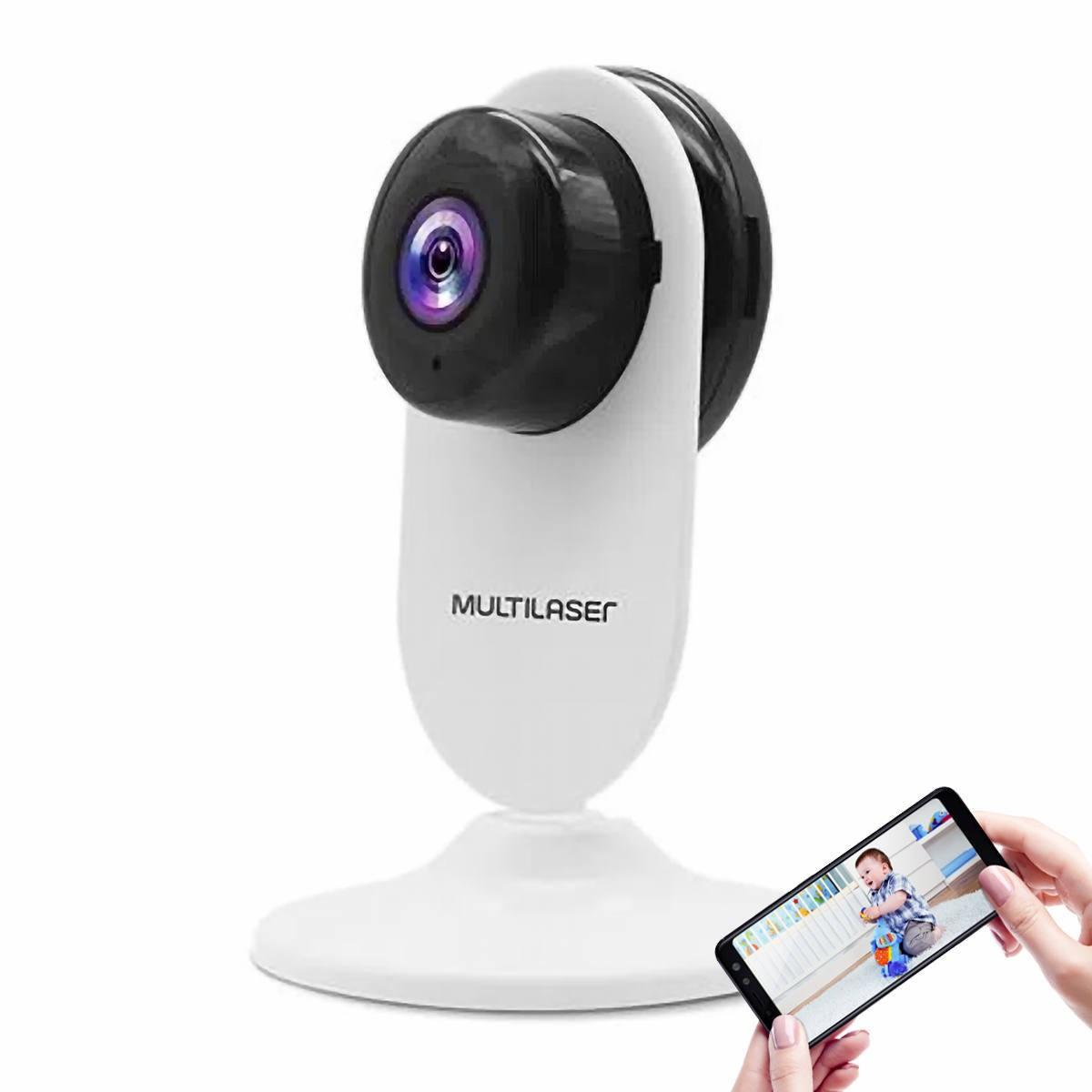Câmera IP Interna Inteligente Wi-Fi Full HD 3.6mm Áudio Bidirecional Visão Noturna IR 10m Monitore pelo APP Liv SE223