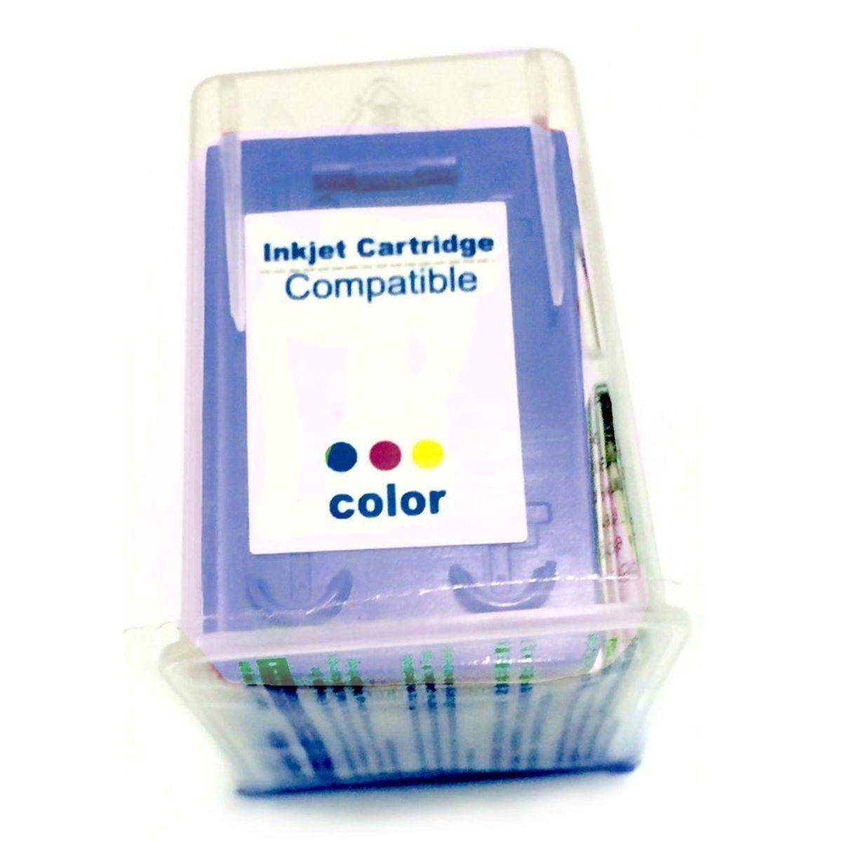 Compatível: Cartucho de Tinta 22 28 57 para HP F4180 F380 J3680 D2360 D2460 3920 3930 3420 D1455 D1360 / Colorido / 13ml