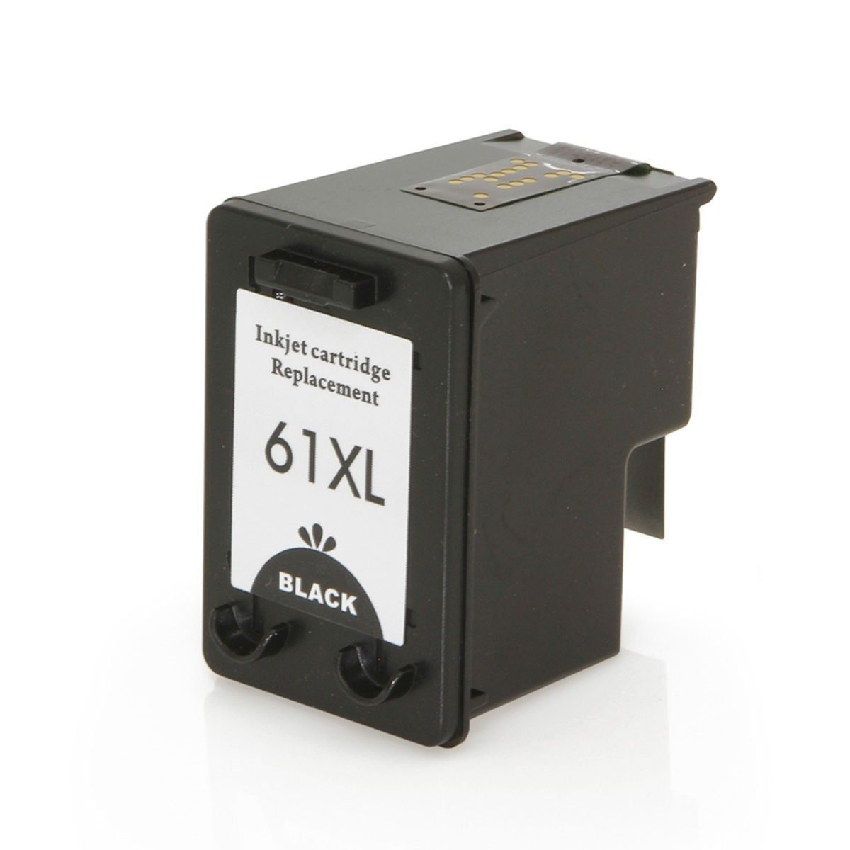 Compatível: Cartucho de Tinta 61xl 61 para HP 1000 J110a 1050 J410a J410e 1051 1010 2000 2050 J510a / Preto / 12ml