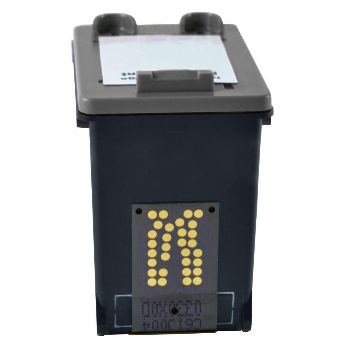 Compatível: Cartucho de Tinta 92 para HP C3180 PSC-1510 1507 5440 C3100 D4100 6210 3500 PSC1510 3180 / Preto / 6ml