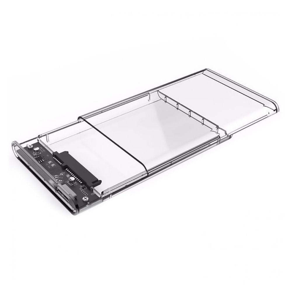 "Case USB 3.0 para HD SATA 2.5"" Externo Transparente Infokit Ecase-300"
