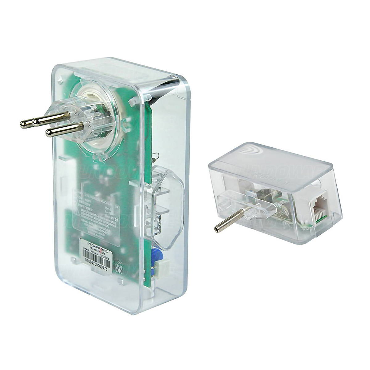 Combo DPS Clamper 3 Tomadas 10A Bivolt Energia 3 + iClamper Tel para Conector RJ11 para Proteção contra Raios e Surtos